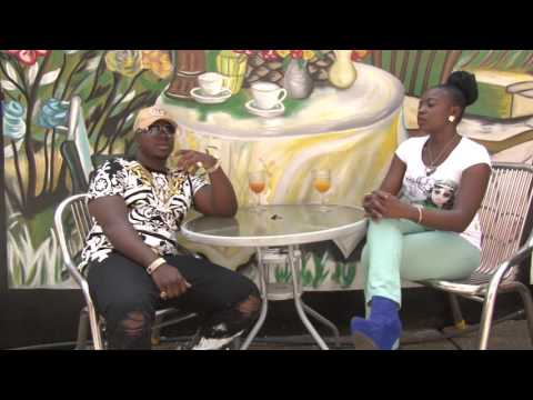 Abizzy and JQ on Salone Talent with Phebe Swill