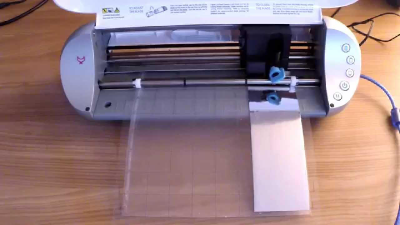 Silhouette Portait schneidet Vinyl Oracal 351 Chrome Folie