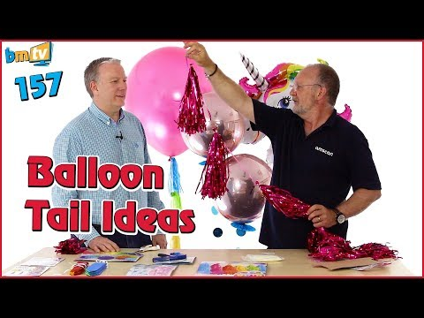 Balloon Tail Ideas: With Chris Horne from Amscan - BMTV 157
