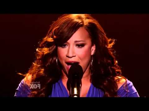 X Factor USA - Melanie Amaro - The world's Greatest - Live Show 5 - Top 9