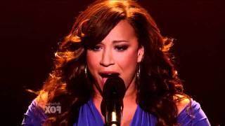 X Factor USA - Melanie Amaro - The world
