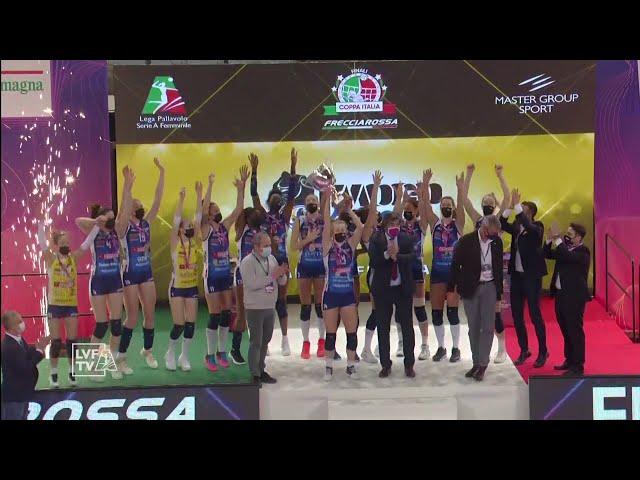 Conegliano - Novara   Finale Coppa Italia Frecciarossa 2021   Lega Volley Femminile 2020/21