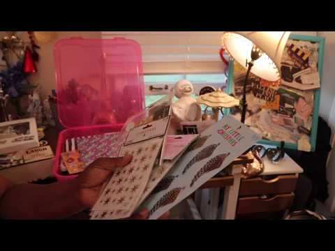 Planner Haul and Supplies Haul | Thrift Hobby Lobby Dollar Tree Michaels Free Finds!  Storage Ideas