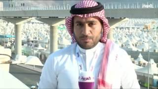 مراسل العربية عن مغادرة الحجاج منى