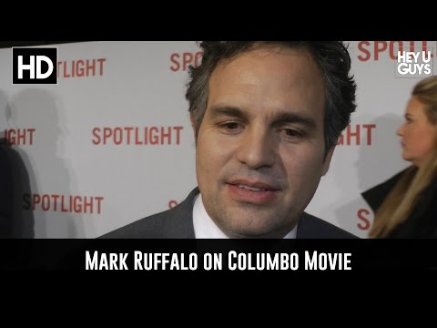 Mark Ruffalo on Rumoured Columbo Movie