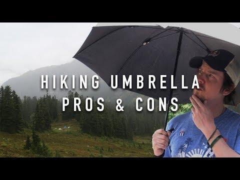 hiking-umbrella---pros-and-cons