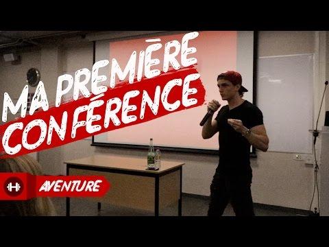 MA PREMIÈRE CONFÉRENCE !! PARTIE 1 💪🏼🐻