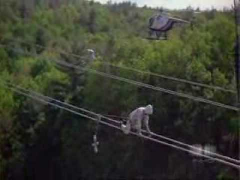 Extremely Dangerous Job! High Power Line Worker