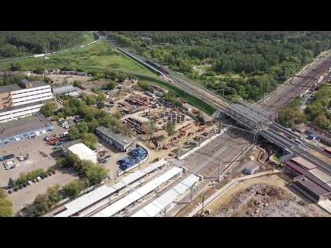 Развязка СВХ - Ярославское шоссе (Строится)