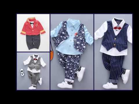 Baby Boy Fashion Styles Outfits | kids Occasion Wear & Formal Collection 2017
