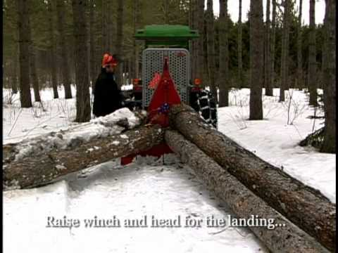 three point pto or hydraulic winch in Forestry and Logging