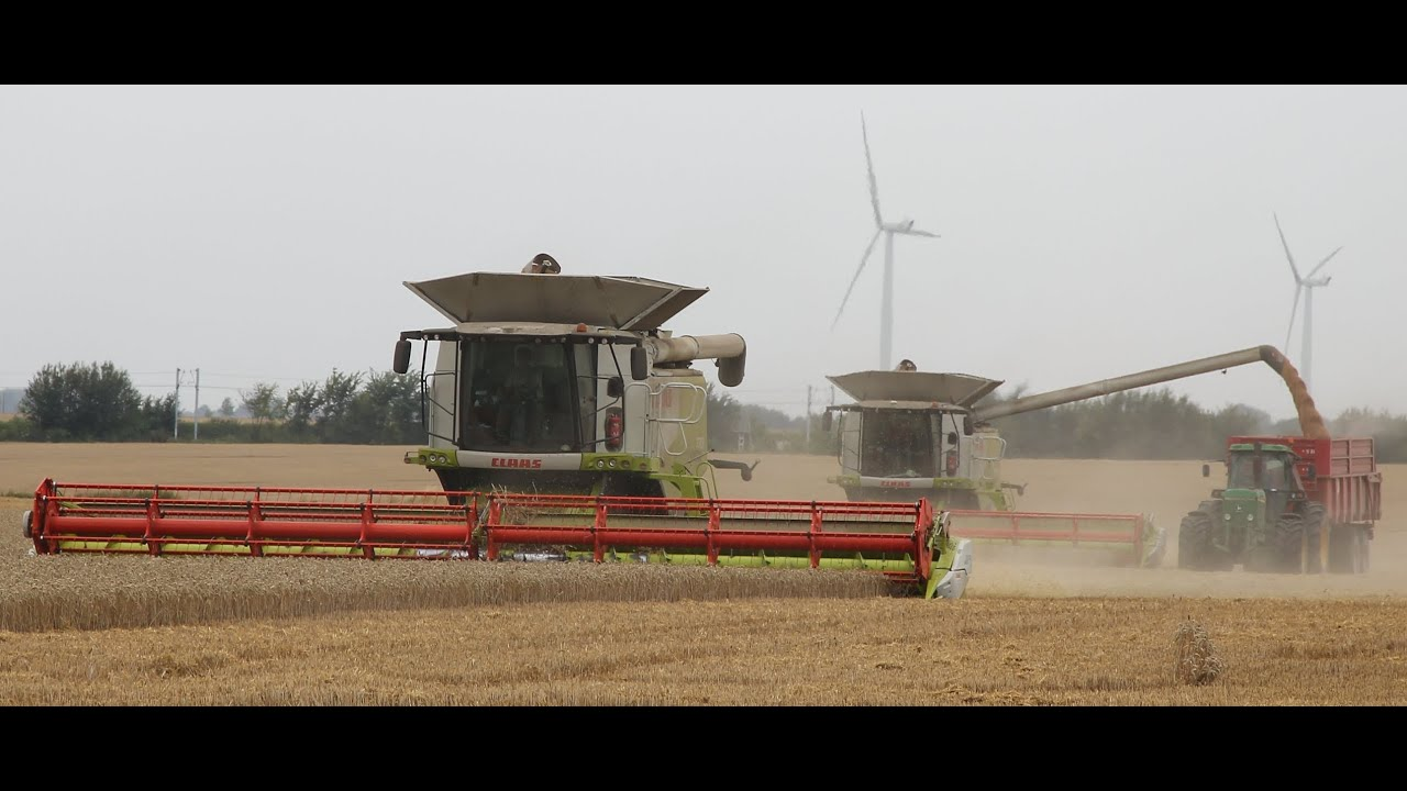 World Biggest Combine Harvester 2 Claas Lexion 770 Youtube