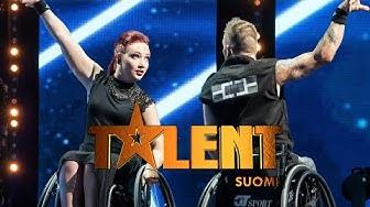 Pyörätuoli-tanssijaduo Refining Movement   Talent Suomi   MTV3