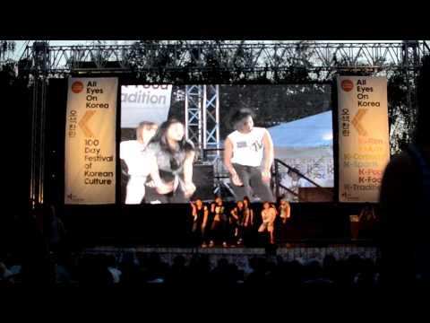 London Thames Festival 2012: LoKo Performance - Teen Top 'Be Ma Girl'