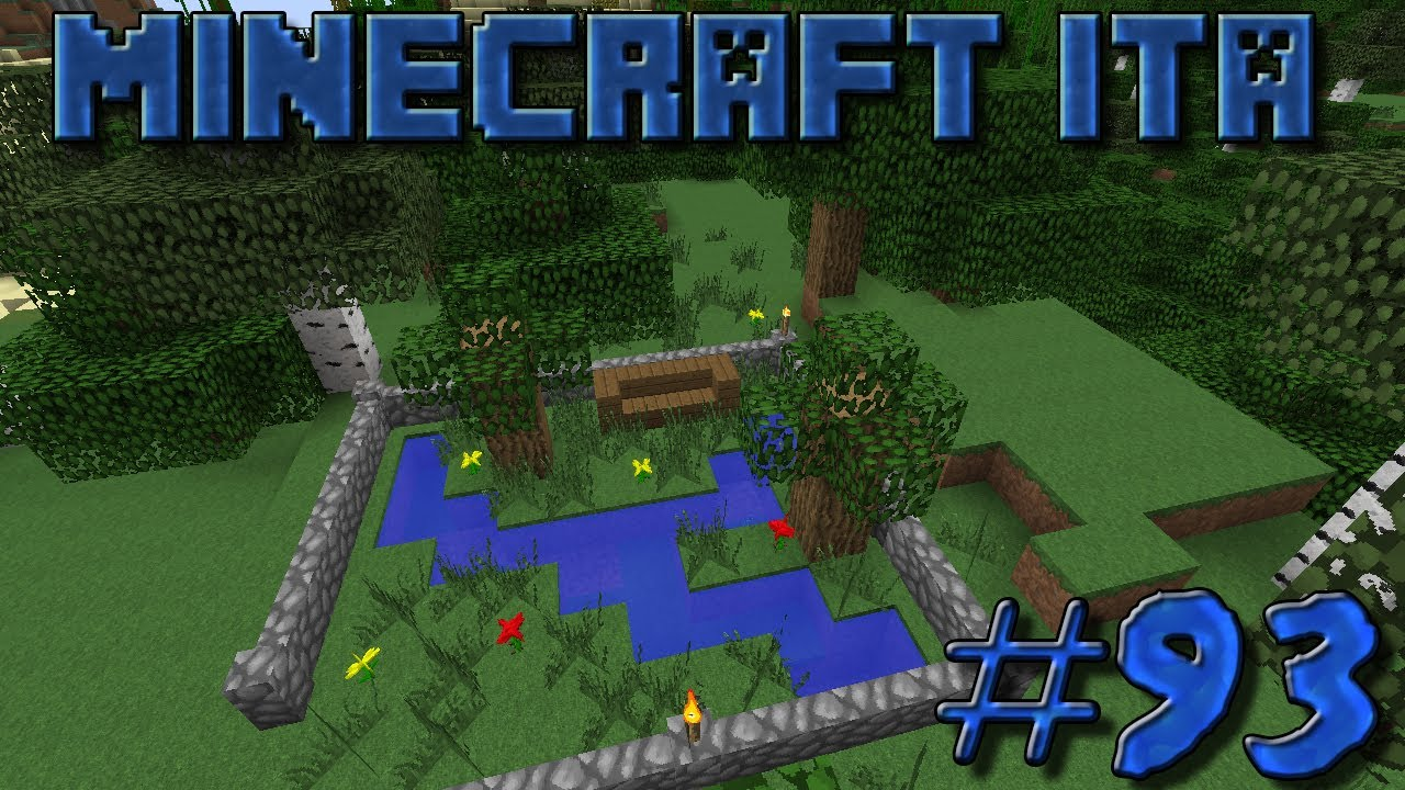 Minecraft ITA #93 Giardino Zen - YouTube