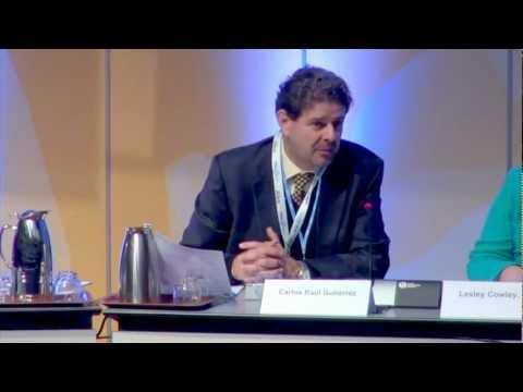 ISOC INET 2012: Carlos Raúl Gutiérrez on protecting children in Opening Roundtable