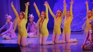 Отчетный концерт 2016. Танцы для детей. Клуб «Дуэт»