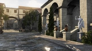 Speed Level Design - Roman Market - Unreal Engine 4