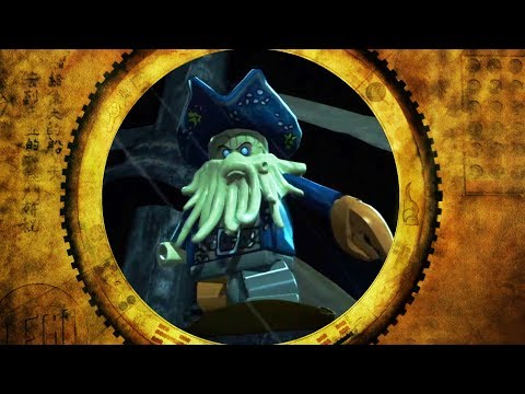 LEGO Pirates of the Caribbean - Level 4 -  Tortuga 100% Complete