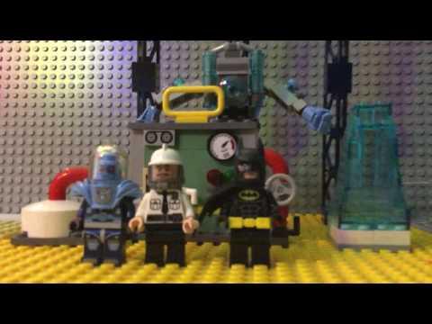 Lego Batman Mr Freeze Ice attack