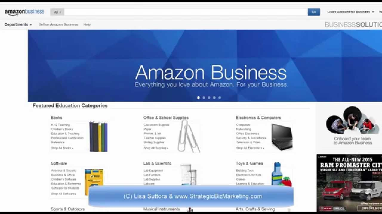 AMAZON BUSINESS SELLER