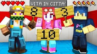 I MIEI AMICI VALUTANO LE MIE COSTRUZIONI - VITA IN CITTA - Minecraft ITA