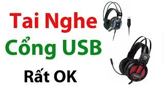 Tai nghe cổng USB, Tai Phone cổng USB - Headphone cổng USB