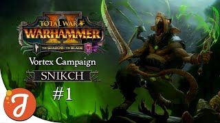 Deathmaster & Chief Assassin | Snikch Vortex Campaign #01 | Total War: WARHAMMER II