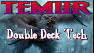 MtG Double Deck Tech: Temur Collected Company + Temur Dragons (w/ NO Theros/M15!)