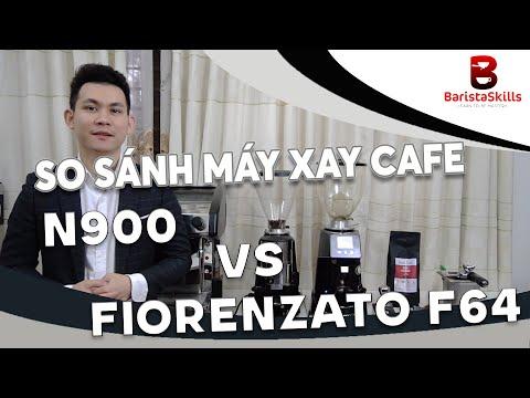 BARISTA SKILLS REVIEW: SO SÁNH MÁY XAY CAFE N900 VÀ FIORENZATO F64 CỰC CHI TIẾT CHO CHỦ QUÁN