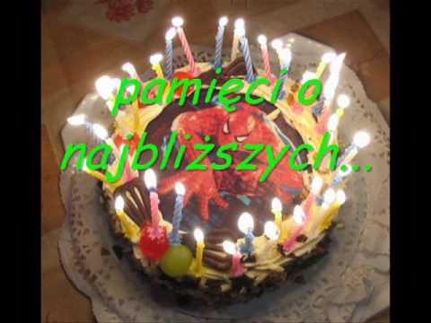 życzenia Urodzinowe Dla Ciebie Sto Lat Youtube