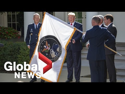 President Trump Launches U.S. Space Command