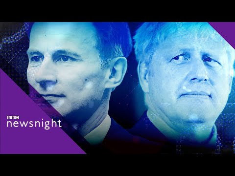 Britain's next prime minister: Boris Johnson or Jeremy Hunt? - BBC Newsnight