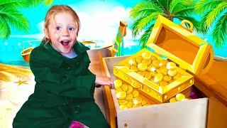 Nastya mencari banyak kejutan seperti seorang detektif