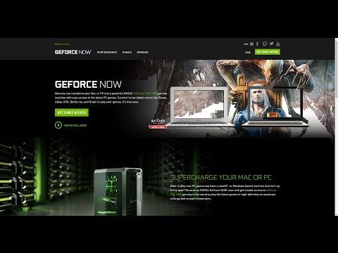 Nvidia Geforce Now!