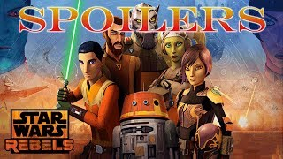 Star Wars Rebels Season 4 Jedi Night + Dhume Episode Recap