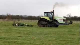 Claas Challenger 55 Mole Ploughing