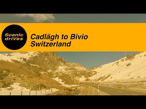 [SLOW TV] Switzerland - Cadlägh to Bivio / Swiss Alps (1080p)