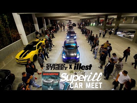 Superill Car Meet – Super Street X illest Collaboration – @ The Source Buena Park, CA