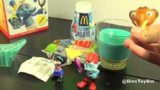 Smurfs 2 (2013) Happy Meal Review Time! Featuring Blue Milk & Ice Age