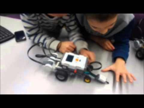 robotics course for 3rd class madatech