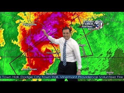 WAAY-TV Tornado Coverage 4/28/14 6-7pm