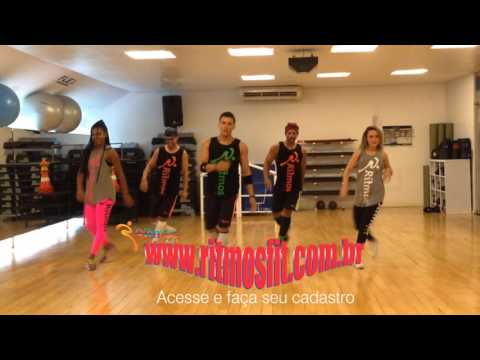 J Balvin feat. Anitta - Ginza - Ritmos Fit - Coreografia