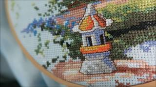 How to cross stitch with a kit (how to get started)