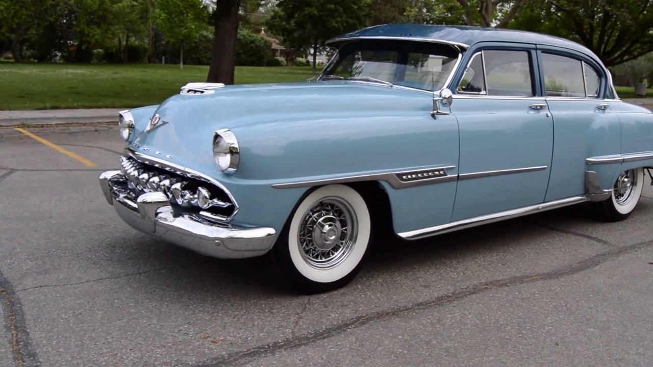 1954 desoto firedome sedan ross 39 s valley auto sales boise idaho youtube. Black Bedroom Furniture Sets. Home Design Ideas