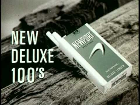 10 Classic Retro Newport Cigarettes Commercials