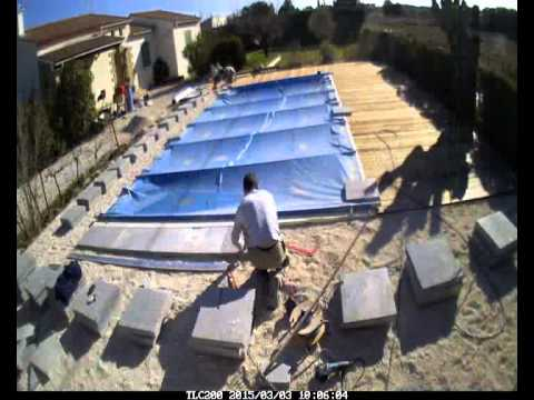 Am nagement autour d 39 une piscine youtube for Amenagement piscine