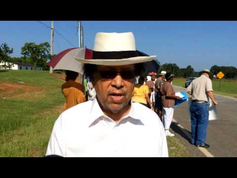 Albany GA Protest; Picketing of Sabal Pipeline development by concerned local citizen