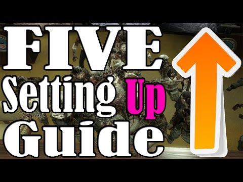 """""""Black Ops Zombies"""" Five Setting Up Guide"""