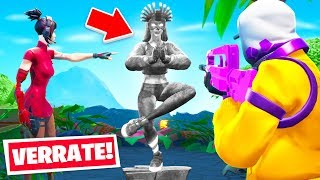 VERRATE die Statue oder STIRB im Hide and Snitch Modus in Fortnite!